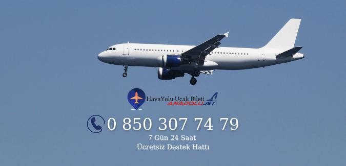 Anadolujet Hava Yolları İstanbul Güngören Telefon