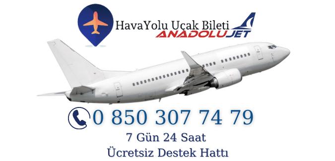 Anadolujet Hava Yolları Uçak Bileti