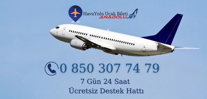 Anadolujet Havayolları Uçak Bileti
